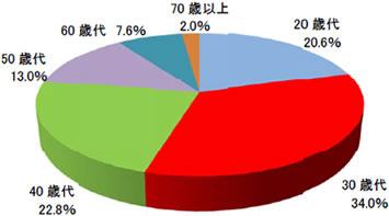 2013年3月末以降の新規顧客のうち、株式投資未経験のNISA口座顧客属性