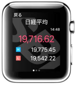 HYPER 株アプリApple Watch