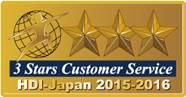 3 Stars Customer Service